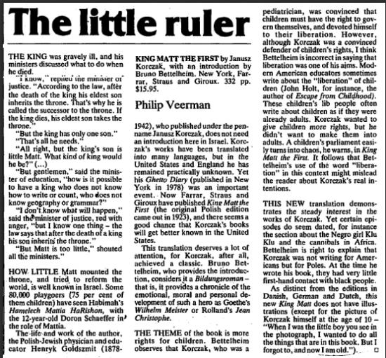 The Little Ruler