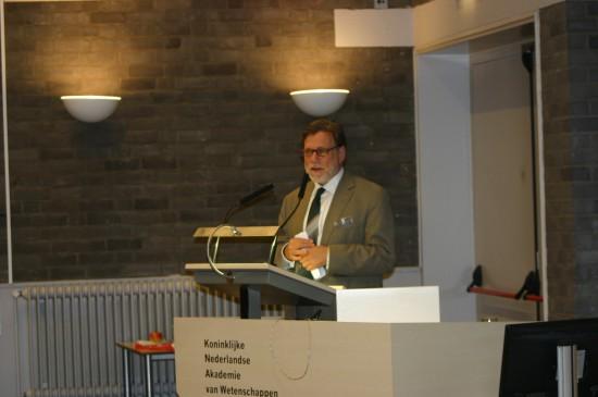 Philip Veerman tijdens het congres Rechten van het kind in theorie en praktijk