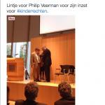 Lintje voor Philip Veerman