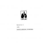 1983: Eerste nieuwsbrief Janusz Korczak Stichting