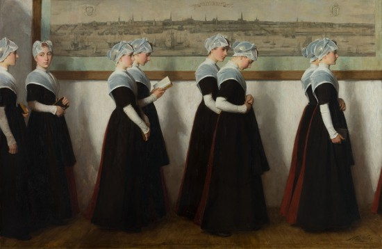 girls of the city orphanage 1902 Amsterdam
