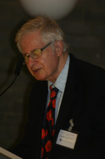 Prof. Michael D. Freeman, F.B. A., Emeritus Professor (Faculty of Laws, University College, London) and editor in-Chief of the International Journal of Children's Rights