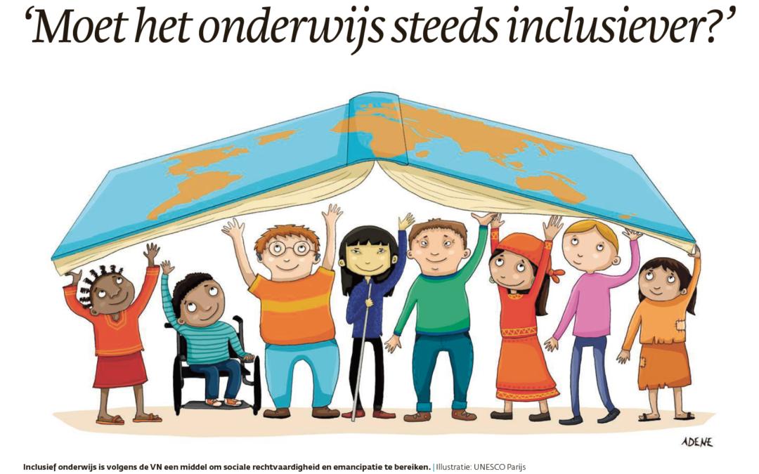 'Moet het onderwijs steeds inclusiever?'